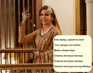 channa mereya quotes