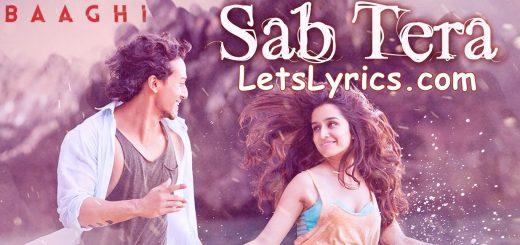 Sab Tera LetsLyrics