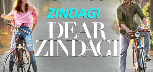Dear Zindagi - Letslyrics