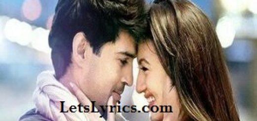 Dil Ashkon Mein-letslyrics
