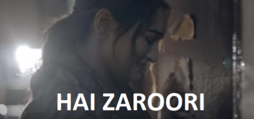 Hai-Zaroori Letslyrics