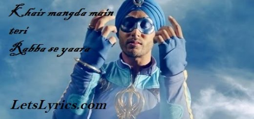 Khair Mangda -Letslyrics