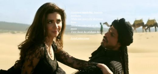 zaalima-raees-Letslyrics
