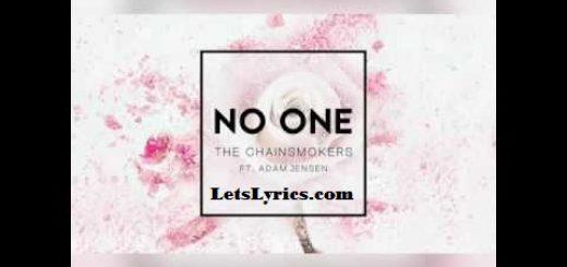 the one-Chainsmoker-Letslyrics