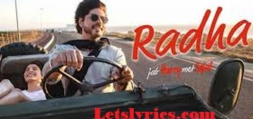 Radha song-Letslyrics