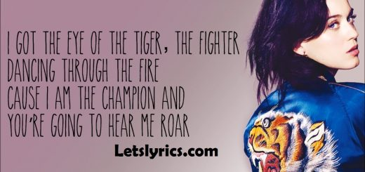 Roar Lyrics – Letslyrics