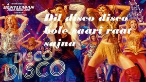 disco-disco-a-gentleman-Letslyrics
