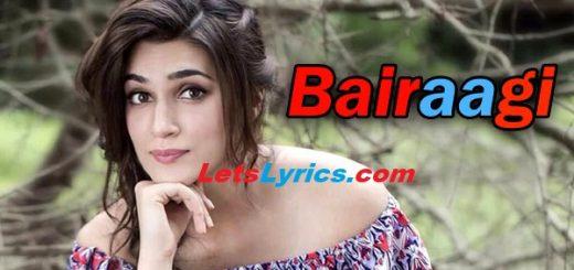 Bairaagi-Letslyrics