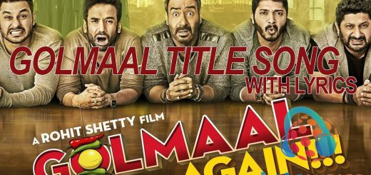 Golmaal Title Song-Letslyrics