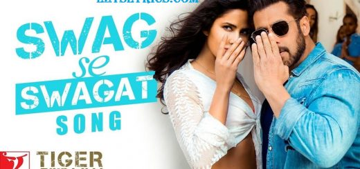 SWAG SE SWAGAT LYRICS- Tiger zinda hai